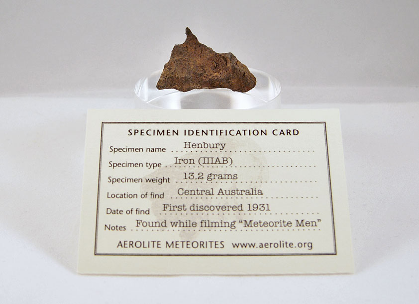 Henbury Iron Meteorite