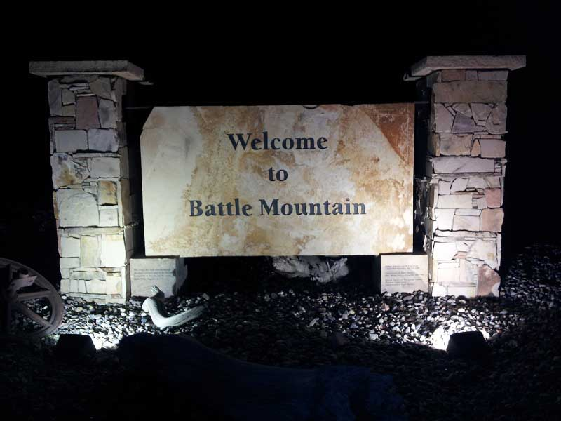 Welcome to Battle Mountain