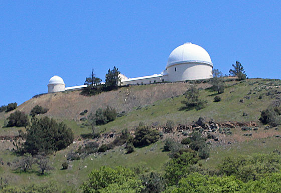 Meteorites at Lick Observatory