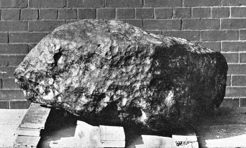 A Grand Meteorite from a Grand House
