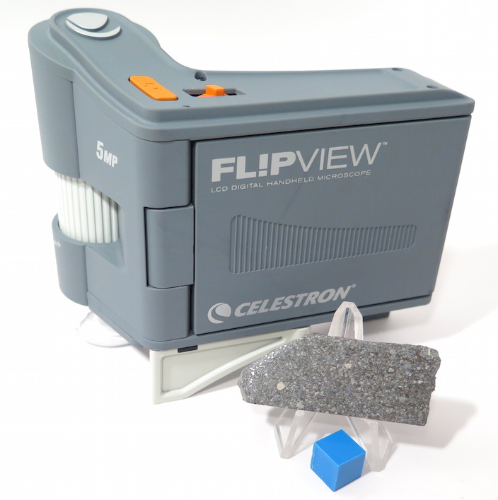 The Celestron Fl!pView digital microscope