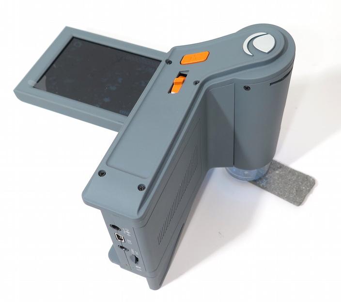 The Celestron Fl!pview digital microscope