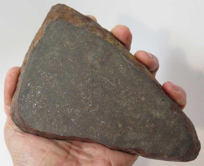 Wilder, Idaho meteorite slice