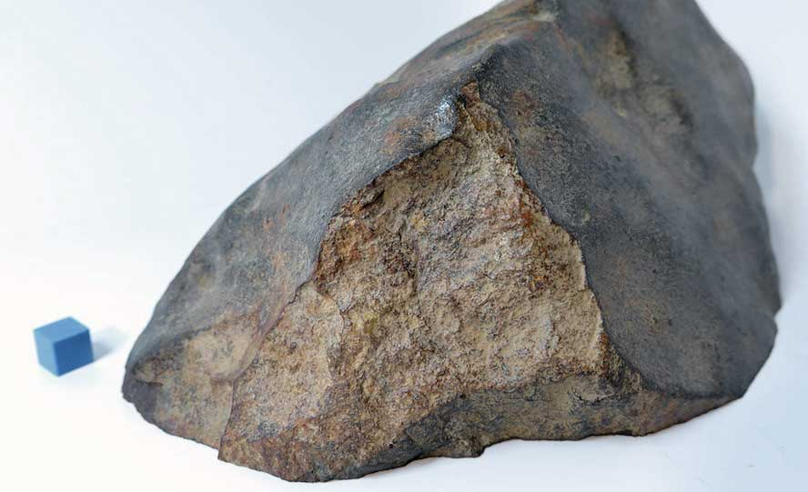 Jerome. Idaho's First Stone Meteorite