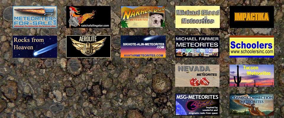 Sponsoring Meteorite Dealers