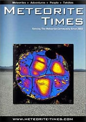 Meteorite Times Magazine November Issue