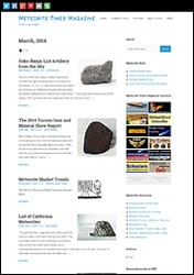 Meteorite Times Browser View