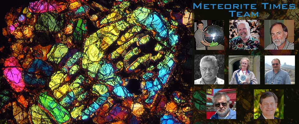 The Meteorite Times Team